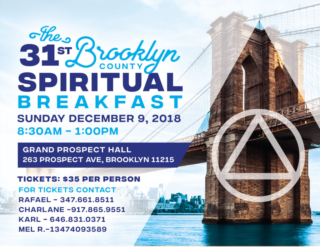 Brooklyn County Spiritual Breakfast 2018 @ The Grand Prospect Hall | New York | United States